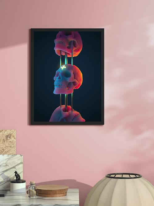 Skullcandy II | Framed Poster