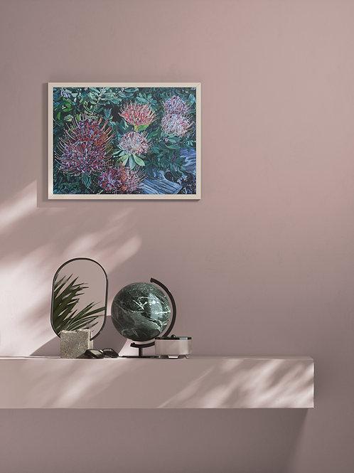 Protea | Framed Poster