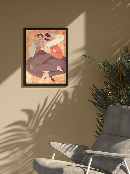 Passion Fruit Love | Framed Poster