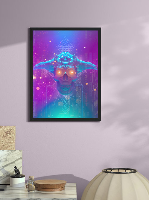 Cult of Vapor | Framed Poster