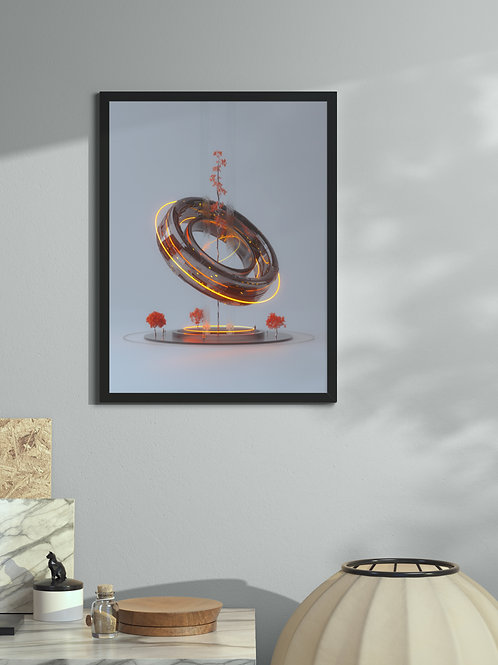 Keplers Fountain | Framed Poster
