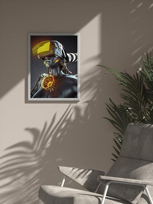 Subject 007 | Framed Poster