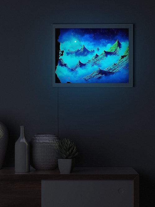 Lara's Moonlight Climb | Lightbox
