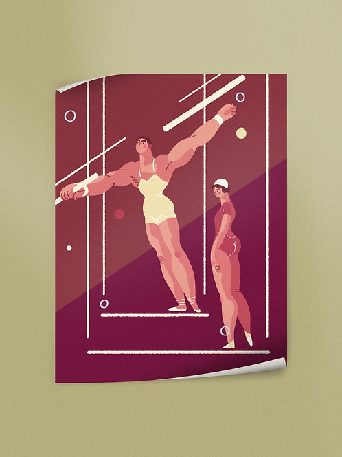 Trapeze Artists | Poster