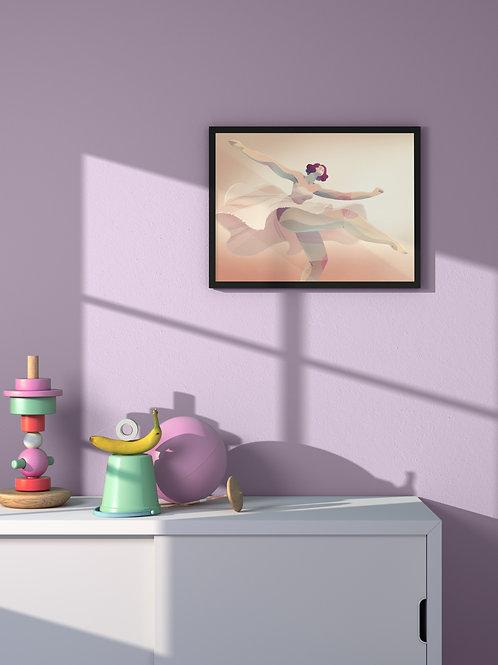 Dreamy Dance | Framed Poster