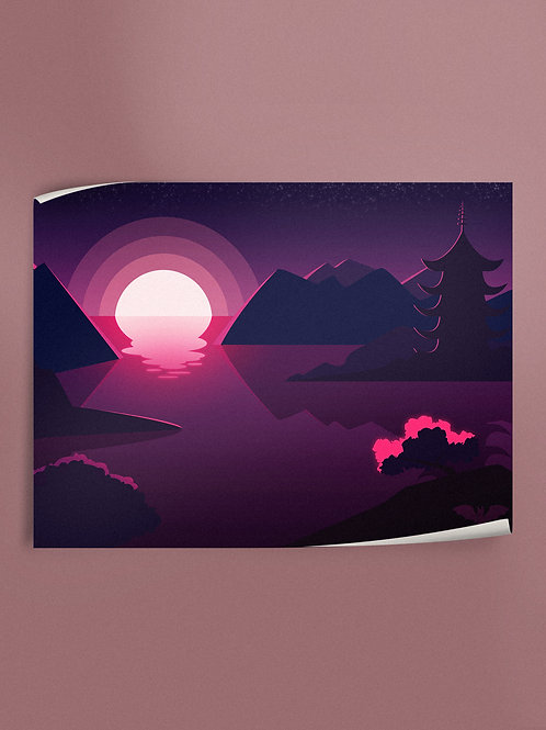 Japanese Scenery | Poster