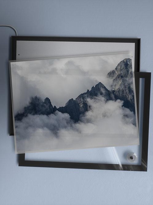 Cloudy Cascade Peaks | Film Insert