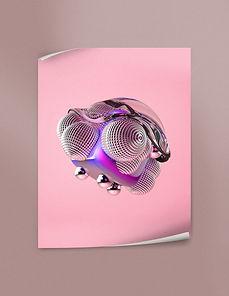 Melting Objects 01 by Shai Samana | Fine Art Poster | BetterThanPlaster