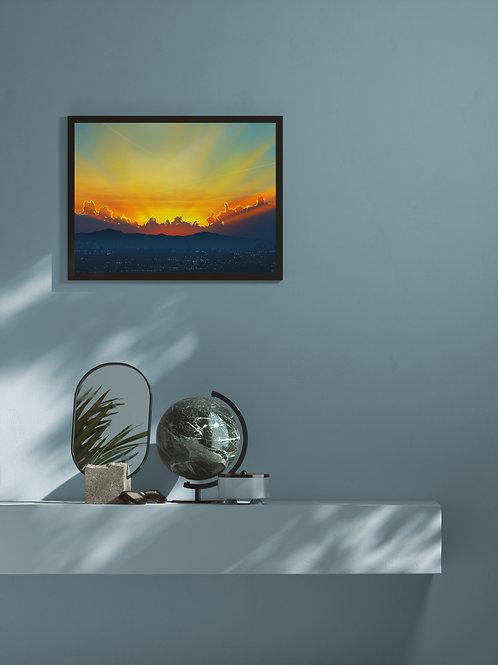 Sunset | Framed Poster