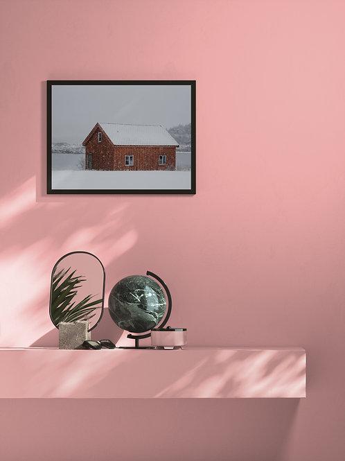 Blizard Barn | Framed Poster