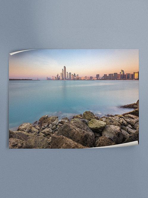 The Capital | Abu Dhabi | Poster