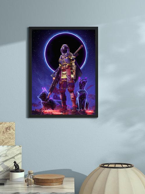 Dark Star Cats | Framed Poster