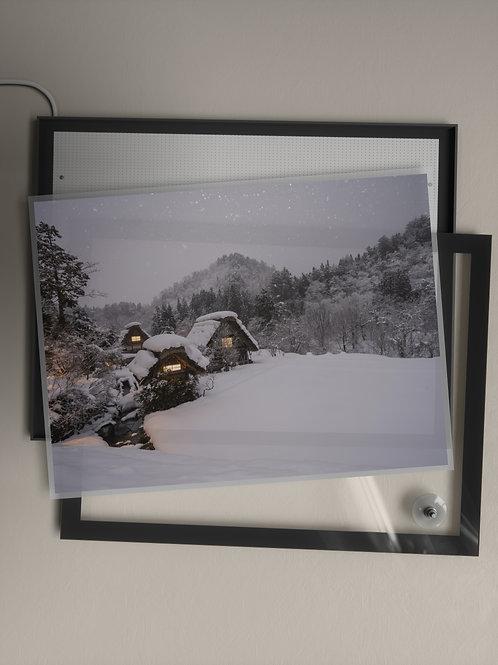 Snow Village   Film Insert