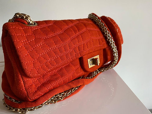 Chanel Orange Vintage Bag