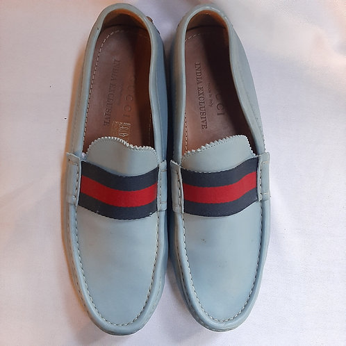 Gucci Blue leather Shoes