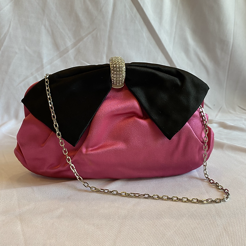 Valentino Pink Bow Clutch
