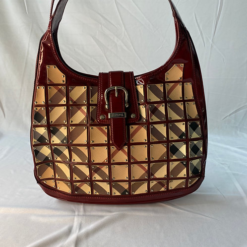 Burberry Brook Patent Leather Bag