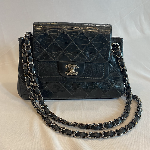 Black Classic Leather Chanel