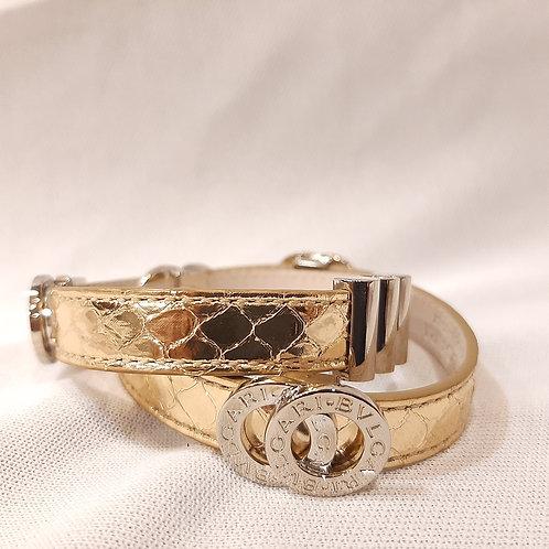 Bvlgari Leather Bracelet