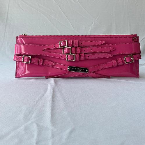 Burberry Pink Belt Clutch