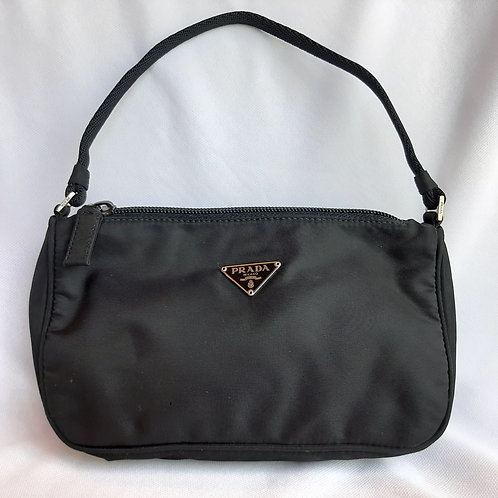 Black mini vintage nylon Prada