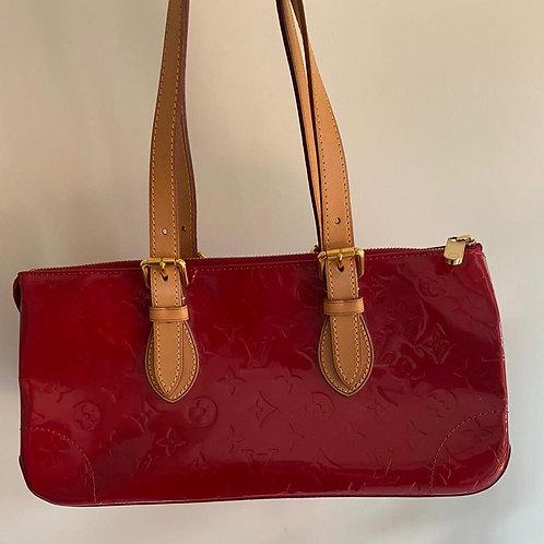 Louis Vuitton Red Vernus Bag