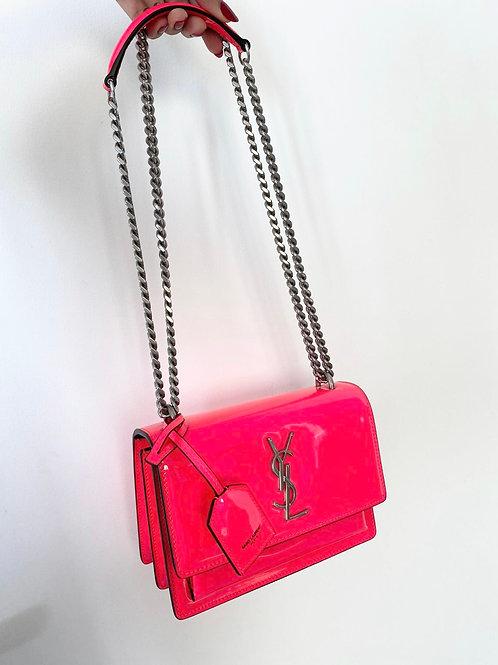 YSL Neon Pink Bag