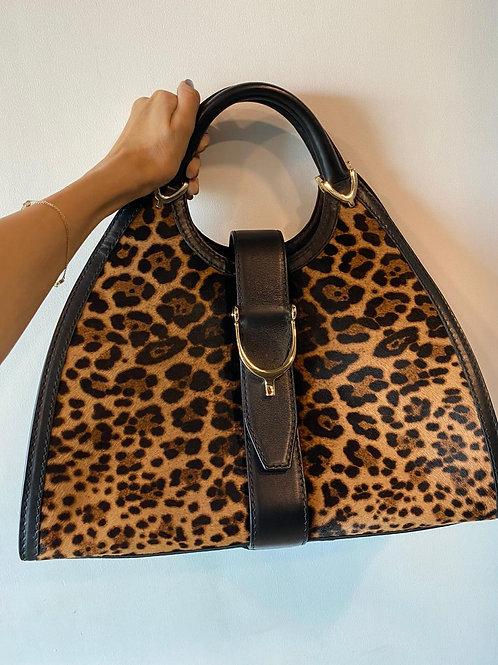 Gucci Leopard Print Bag