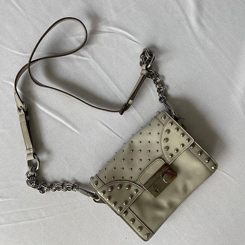 Prada Silver Chain Bag