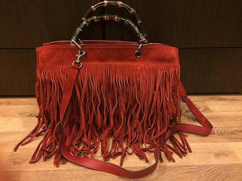 Gucci Suede Bag
