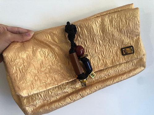 LV Gold Clutch