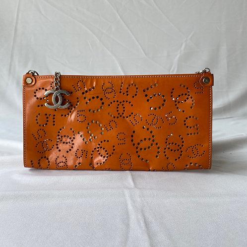 Chanel Mini Orange Clutch