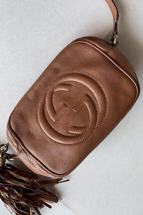 Gucci Disco Brown Leather