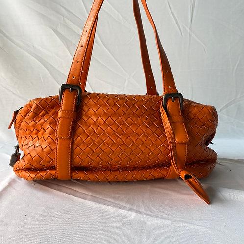 Bottega Orange Bag