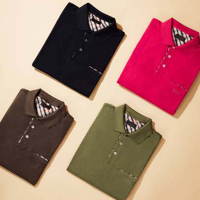 DAKS polo shirts