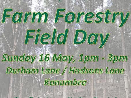 EARTHCHAT: Farm Forestry Field Day