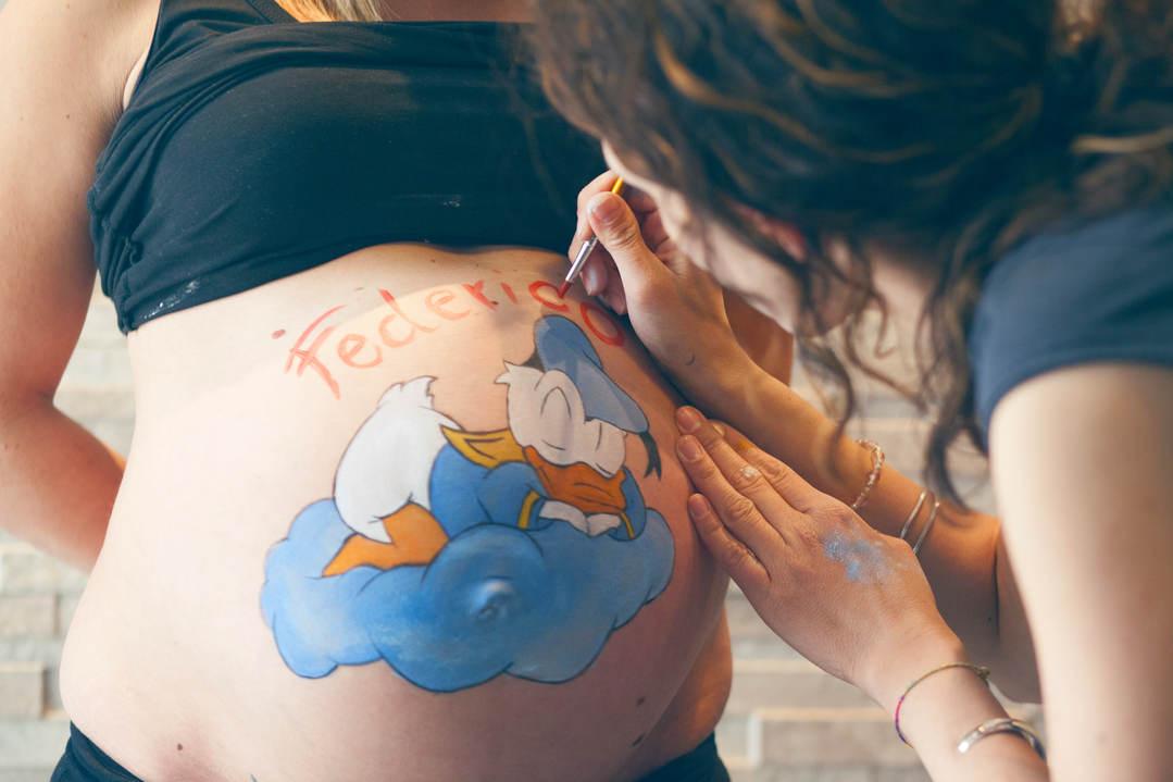 Bump Painting - Maternity