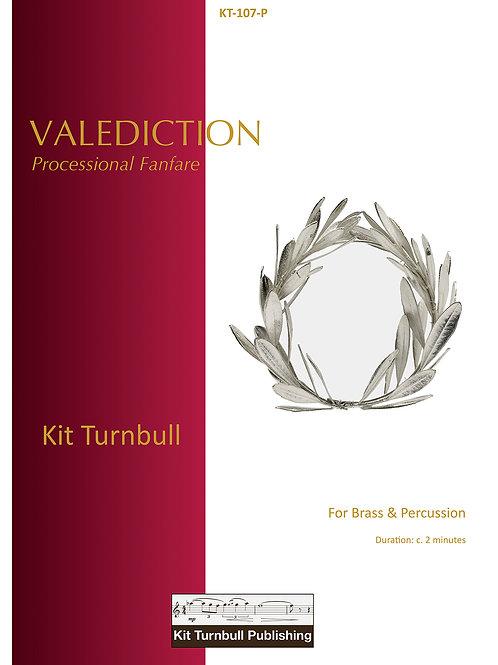 Valediction - Score & Parts