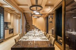 C1 - Dining room  + wine storage 2