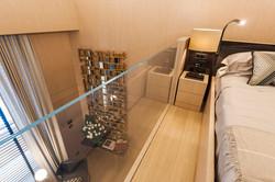 C1 - Living room + master bedroom