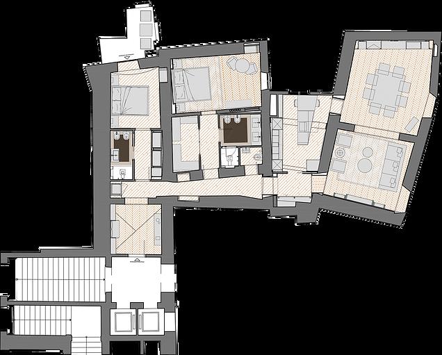 Pianta N1 - Eight Luxury Apartments copi