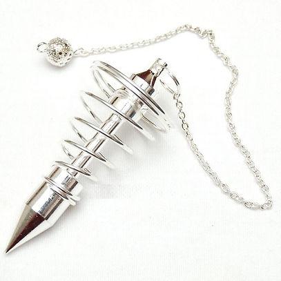 pendulo-espiral-de-metal-plateado-grande