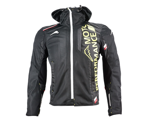 Riding Mesh Hooded Jacket