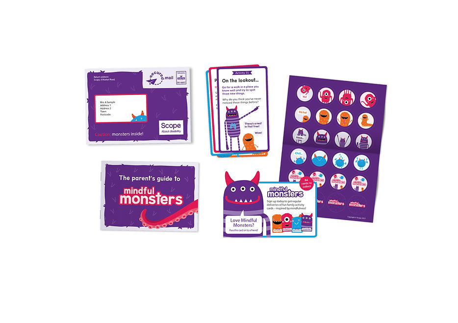 Mindful monster pack