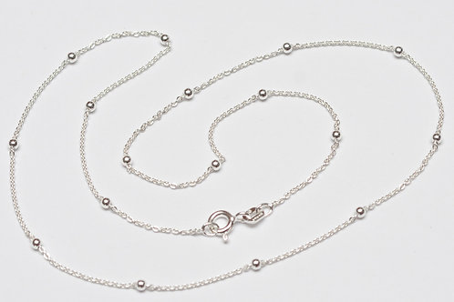 Wholesale sterling silver satellite chain