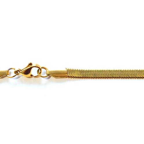 Wholesale gold plated Herringbone chain