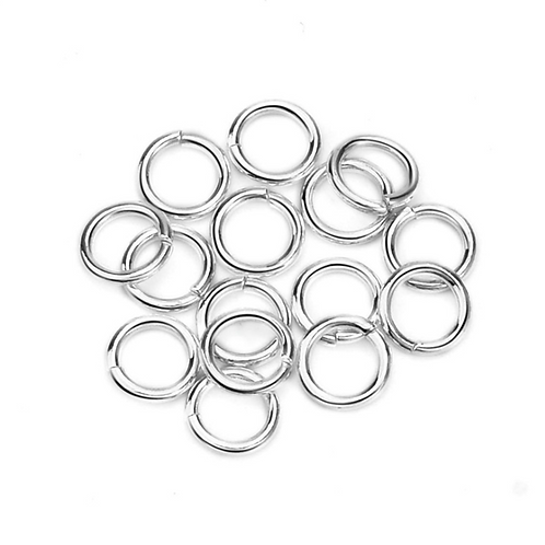 Wholesale sterling silver jump rings 5mm