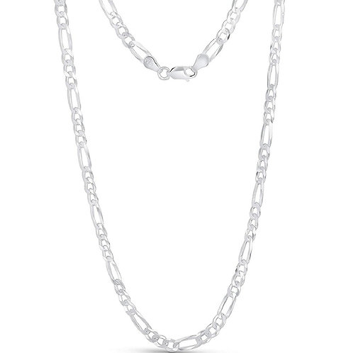 Wholesale sterling silver Figaro chain 3mm