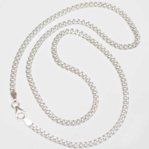 Wholesale sterling silver cuban chain 4.5mm
