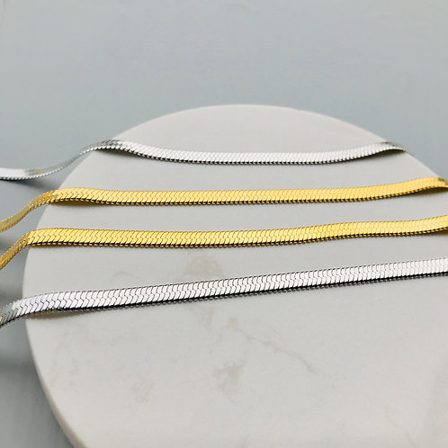 Wholesale sterling silver Herringbone chain